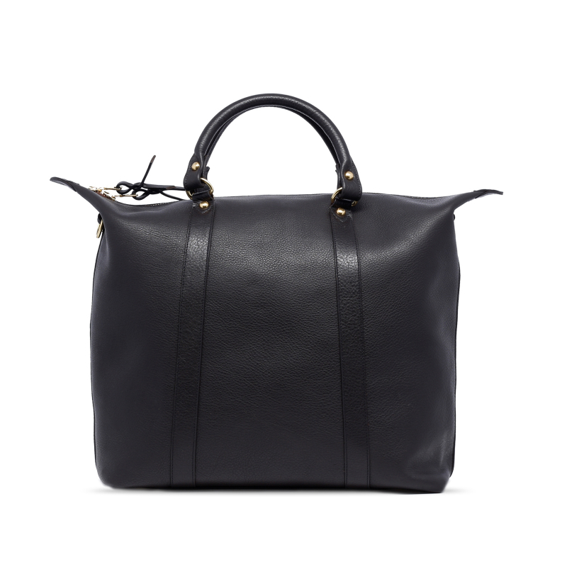 Hampton Tote - Moose - Tumbled Leather