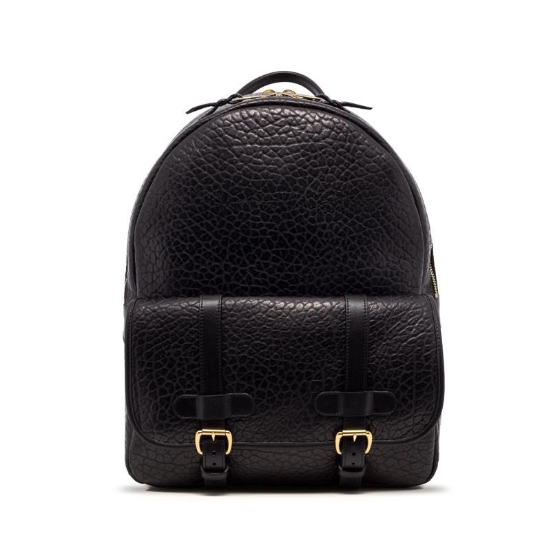 Hampton Zipper Backpack-Black in