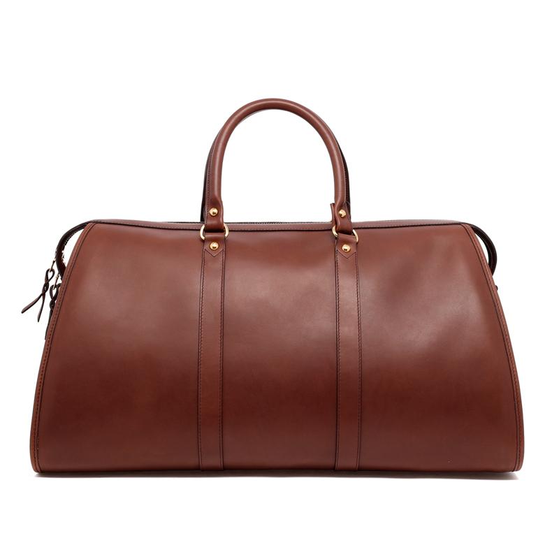 Hampton Duffle - Dark Taupe - Belting Leather