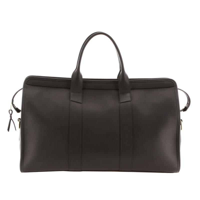 Signature Duffle - Matte Black/Black Interior - Smooth Leather