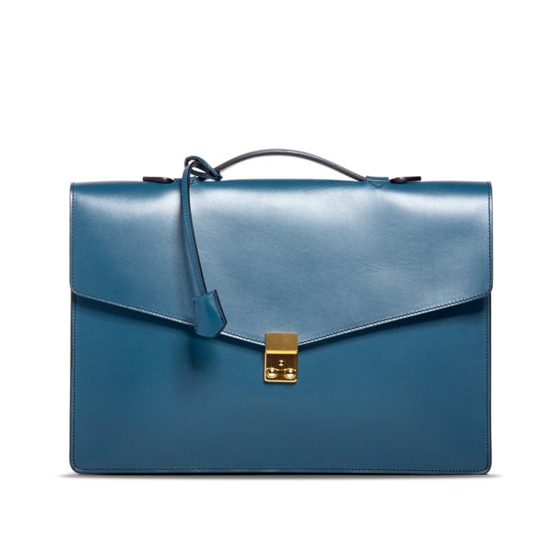 Port Briefcase - Stellar Blue