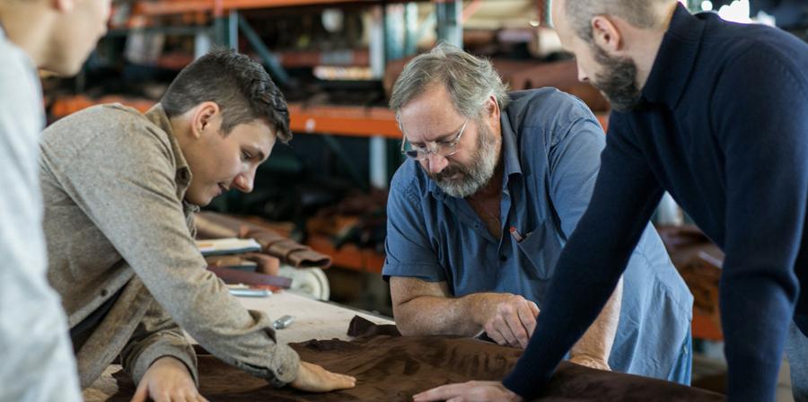 Permanent Style Visits Frank Clegg Leatherworks
