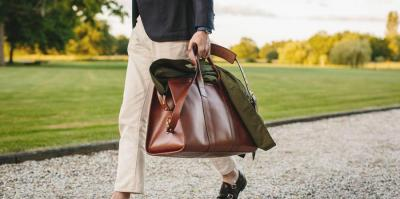 The Leather Duffle