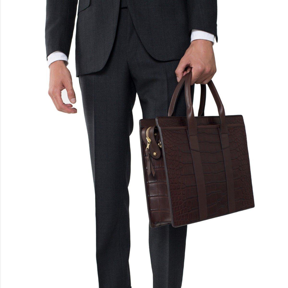 American Zip Top Briefcase Frank Clegg?_mignore=1