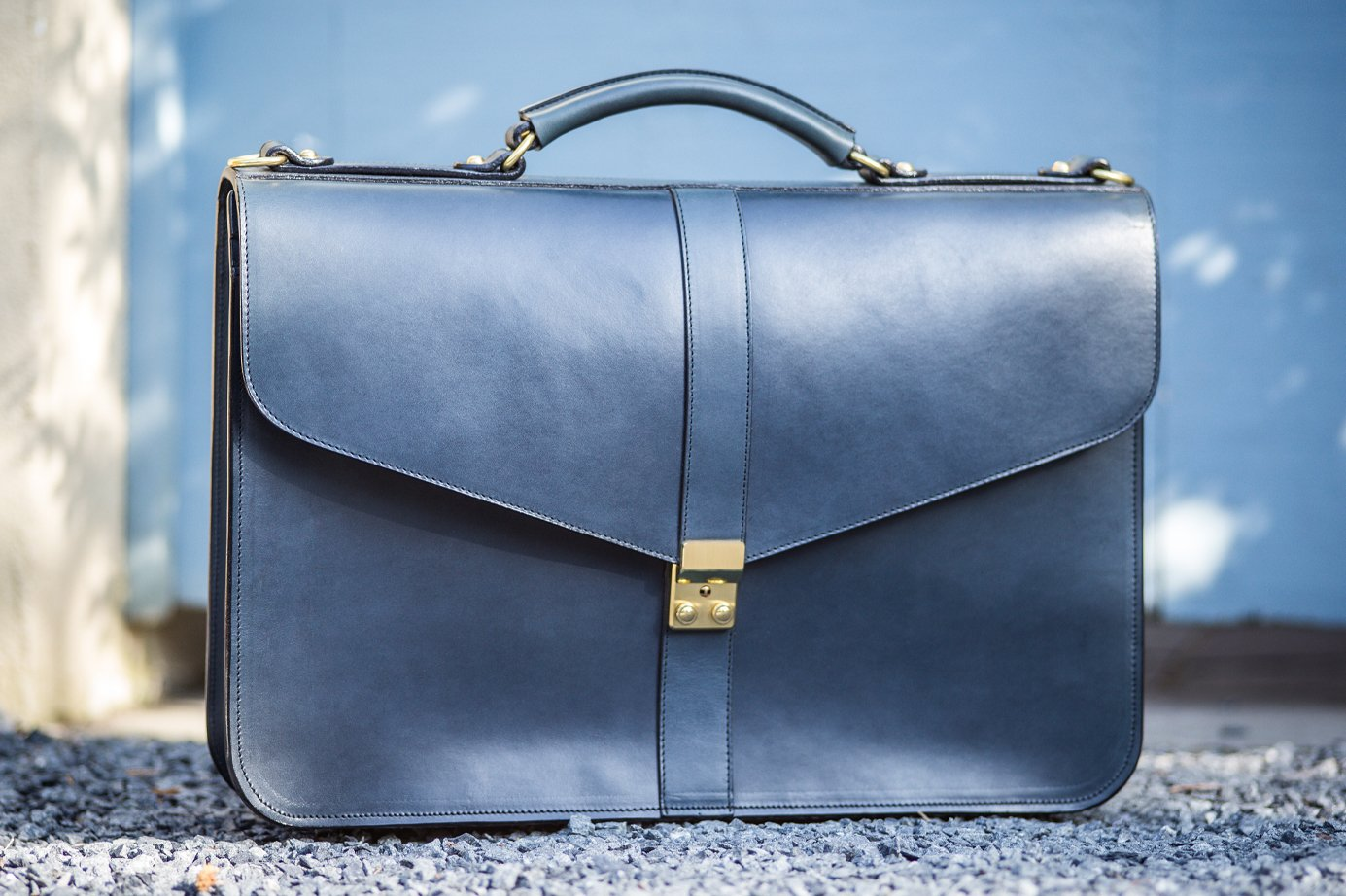 Leathe Lock Briefcase Frank Clegg1