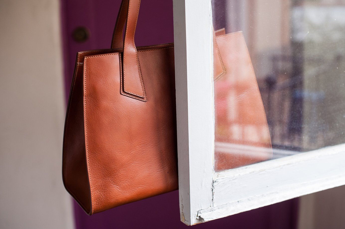 Leather Ellie Tote Bag Frank Clegg1