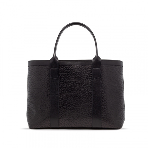 Large Working Tote in Shrunken Grain Leather