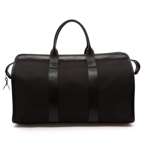 Signature Travel Duffle - Black/Black Interior - Cordura Fabric in