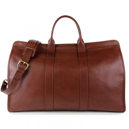 Compass Duffle  in Smooth Tumbled Leather
