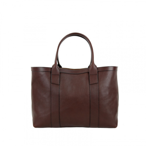 Medium Working Tote in Smooth Tumbled Leather