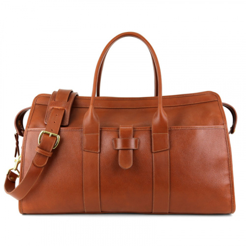 Troy Duffle  in Smooth Tumbled Leather