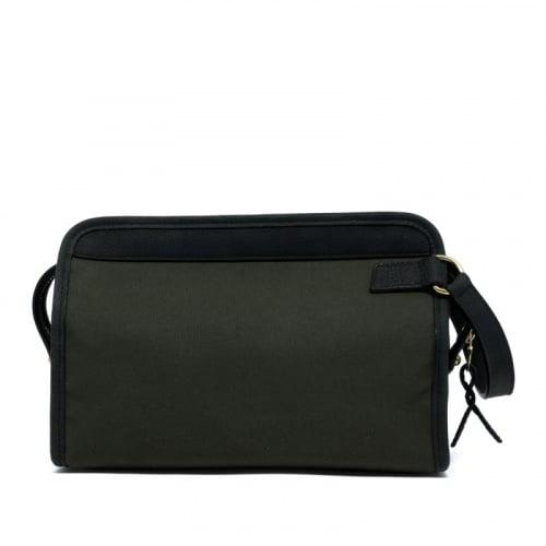 Large Travel Kit - Dark Olive/Dark Green - Canvas in