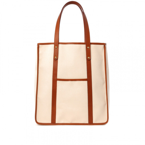 The Market Tote  in Canvas
