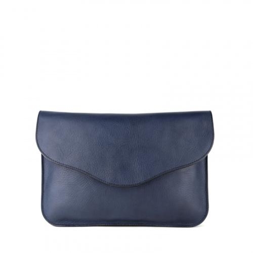 Maddie Shoulder Bag in Smooth Tumbled Leather
