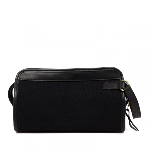 Small Travel Kit - Black - Canvas in