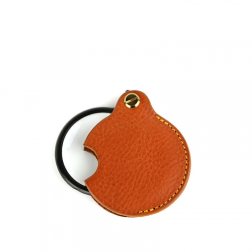 Pocket Magnifying Glass in Smooth Tumbled Leather