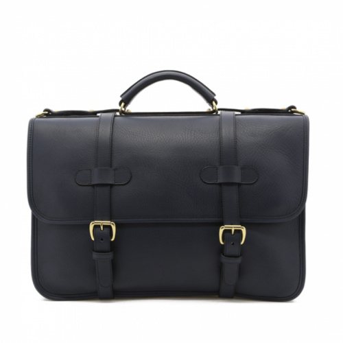 Bound Edge English Briefcase Navy  in