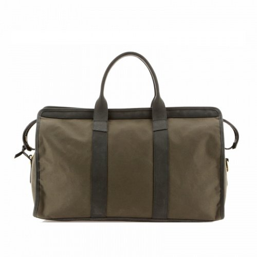 Signature Travel Duffle - Olive/Matte Dark Green - Canvas in