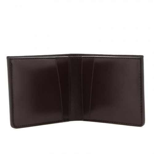 Classic Wallet - Chocolate - English Bridle in