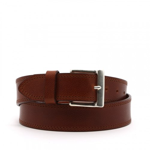 Double Stitched Leather Belt in double_stitch