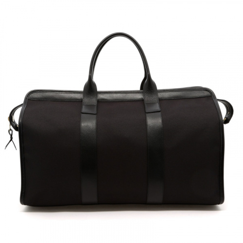 Signature Travel Duffle - Black/Black Interior - Cordura Fabric in
