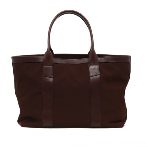 Large Working Tote - Chocolate - Sunbrella in