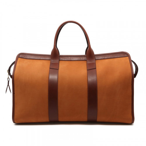 Signature Travel Duffle - Tobacco/Chestnut - Nubuck  in