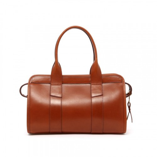 Signature Satchel Small - Cognac - Belting  in