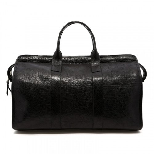 Signature Travel Duffle - Black/Black Interior - Sporadic Leather  in
