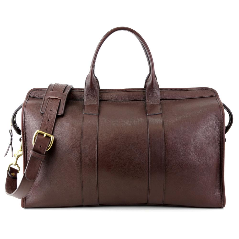 7a4ff298e5e7 Handmade Leather Travel Duffel Bag