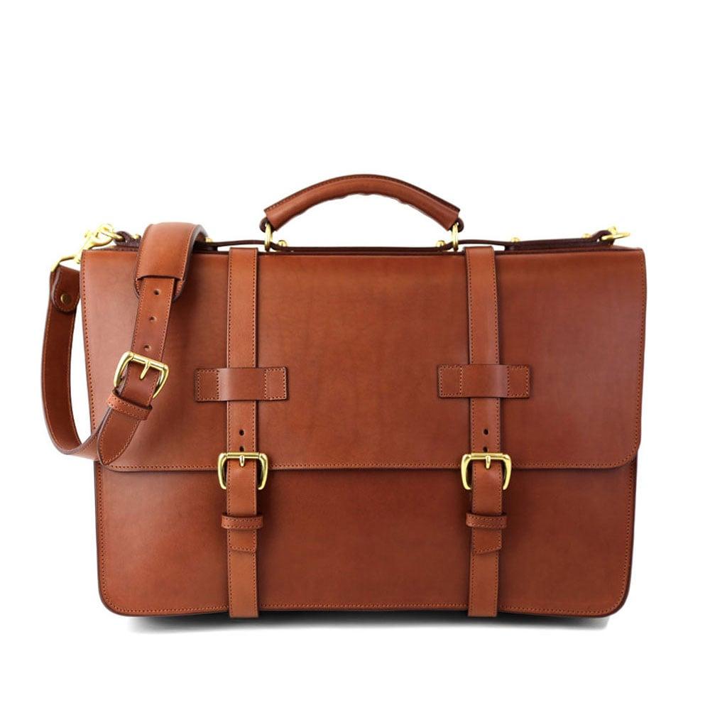 562382341d98 Leather Zipper Tote Bag